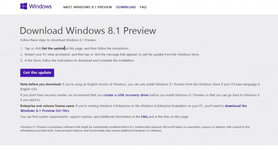 Windows 8.1 Preview Download und Installation