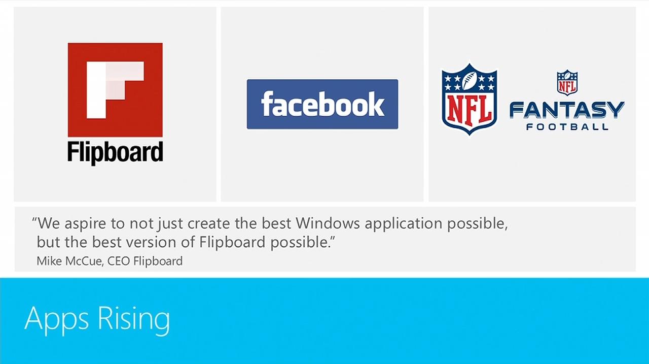Build 2013: Offizielle Facebook- und Flipboard-App angekündigt