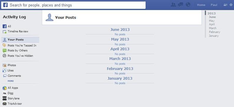 Facebook Beiträge Löschen Alle
