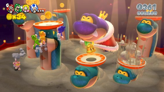 Super Mario 3D World Mehrspielermodus