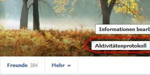Facebook-Chronik: So löschen Sie alle geteilten Beiträge aus Ihrer Timeline