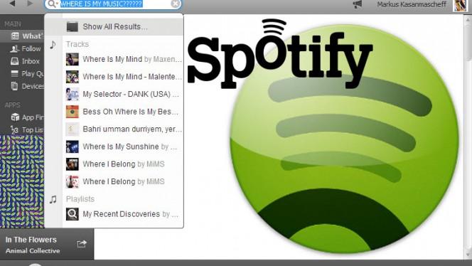 Spotify-Suche: Musik mit Filtern schneller finden