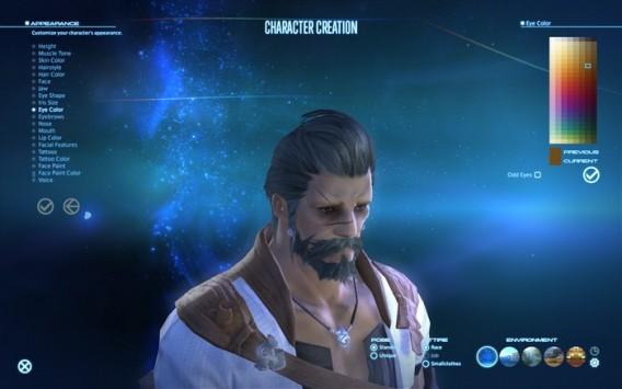 Final Fantasy XIX - Charaktererstellung
