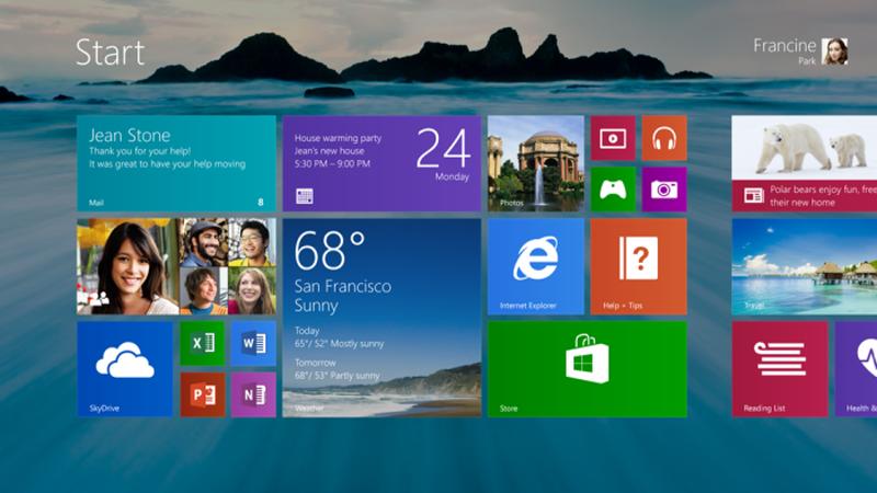 Windows 8.1 Enterprise Preview als Download verfügbar