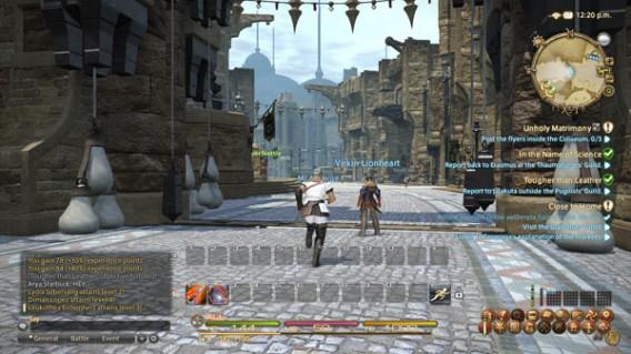 Final Fantasy XIX: Umgebung
