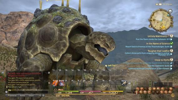 Final Fantasy XIX: Riesenschildkröte