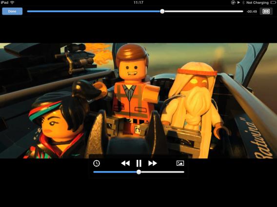 VLC for iOS unterstüzt Untertitel