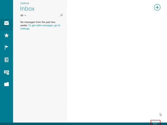 Windows 8.1 Build 9471 Kontextmenü