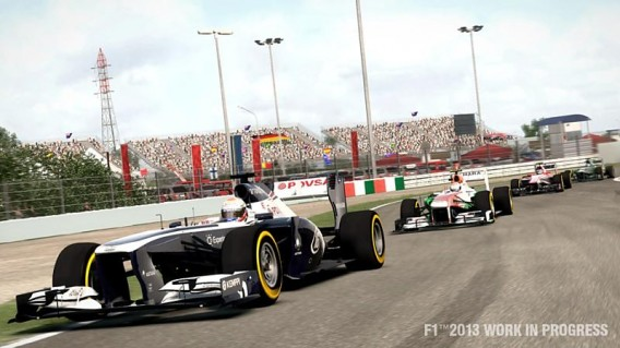 F1 2013. Bild: Codemasters