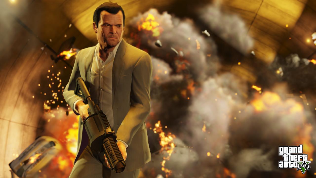 GTA V: Neues Video mit Multiplayer-Gameplay Grand Theft Auto Online