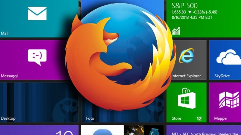 Firefox mit Windows 8 Modern UI-Oberfläche kommt am 10. Dezember