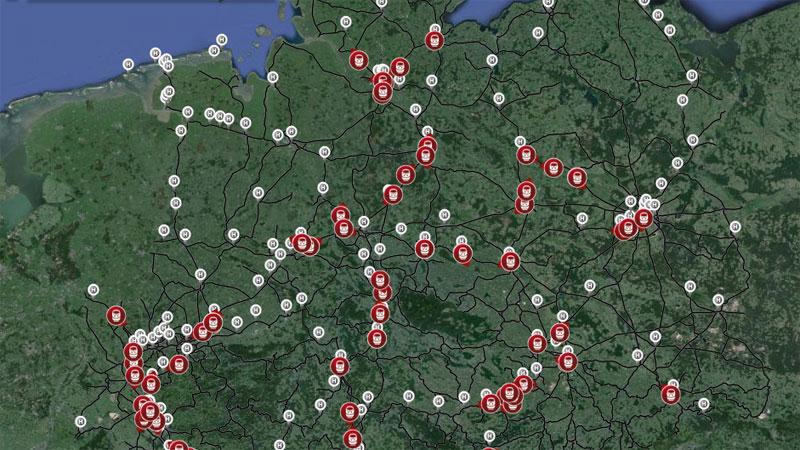 Zugradar der Deutschen Bahn: Zugfahrten live mitverfolgen