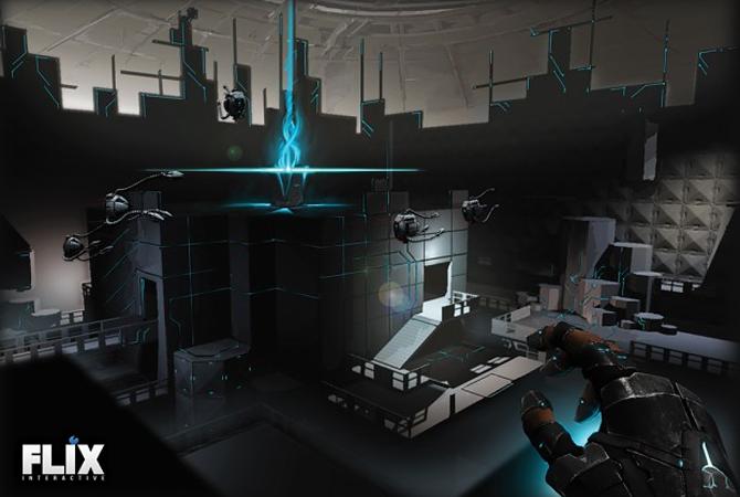 Klötzchenspiel im Weltall: Eden Star verbindet Minecraft und Portal