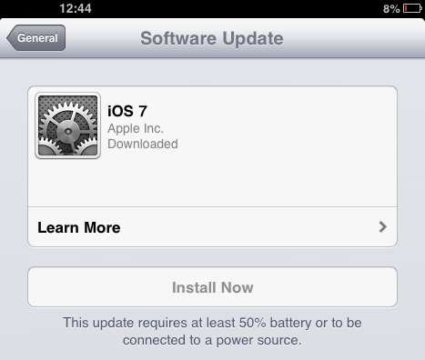 iOS 7 Installation 2