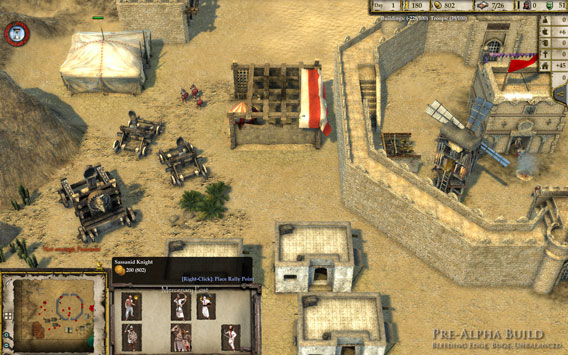 Stronghold Crusader 2 - Kaserne