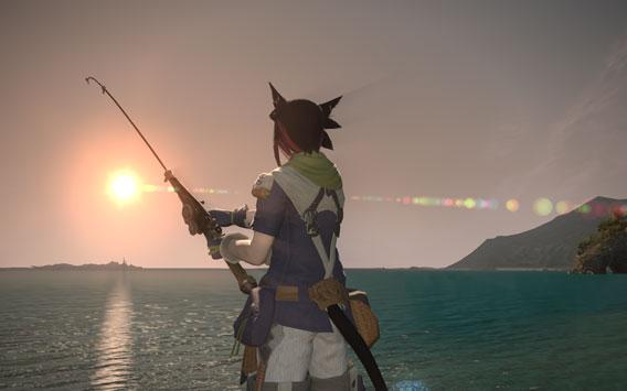 Final Fantasy 14 - La pesca