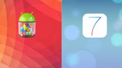 Android 4.3 gegen iOS 7: Welches System ist besser?