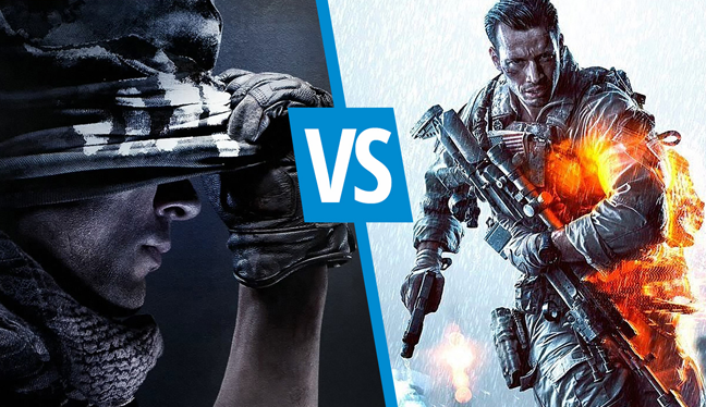Vergleich: Call of Duty Ghosts gegen Battlefield 4
