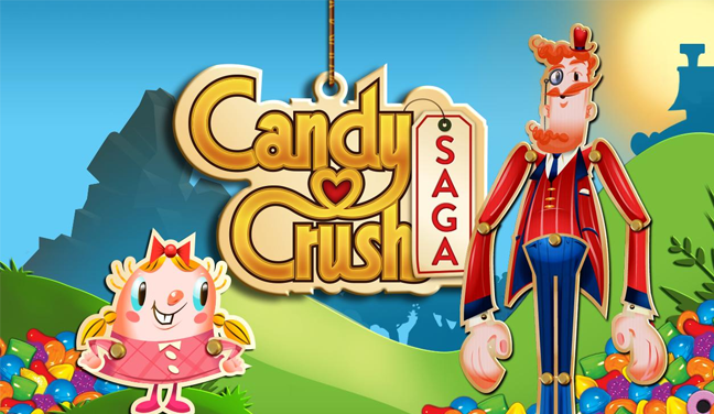 Candy Crush Saga kommt für Kindle Fire