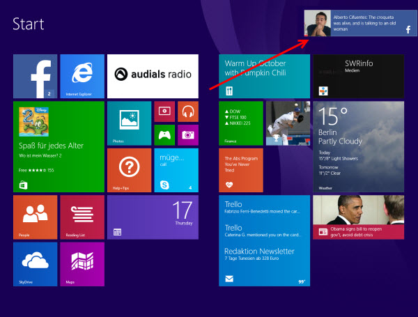 Facebook pour windows 8 1 d couvrez l application - Open office en francais pour windows 8 ...