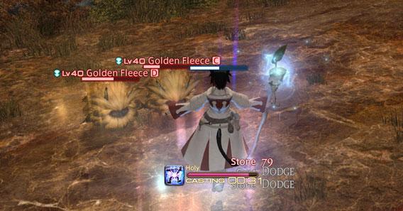 Final Fantasy 14 - A caccia di batuffoli dorati