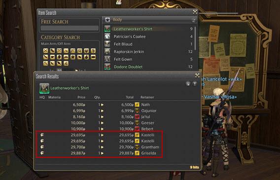 Final Fantasy 14 - Produrre prodotti di alta qualità vale la pena