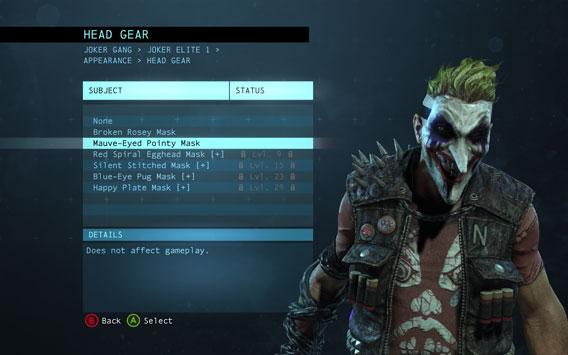 Batman Arkham Origins Multiplayer - Costumes