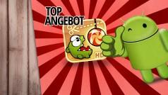 Cut the Rope HD für Android-Smartphones gerade 50 Prozent billiger