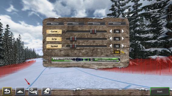 Ski Challenge Ski