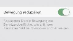 So beschleunigt man iOS 7 mit einer einfachen Einstellung