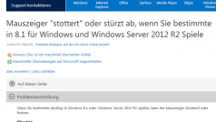 Mauszeiger-Problem bei Call of Duty: Black Ops – Microsoft behebt Windows 8.1-Bug