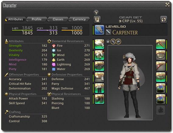 Final Fantasy XIV - Handwerks-Kleidung