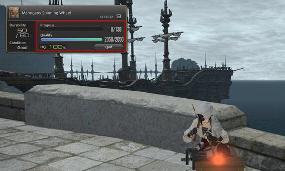 Final Fantasy XIV: Basteln von HQ-Items
