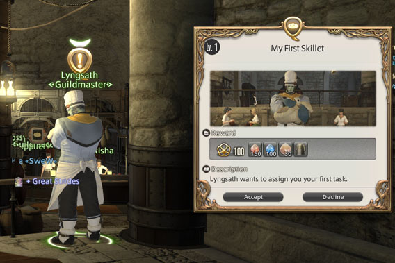 Final Fantasy XIV - Klassenquests