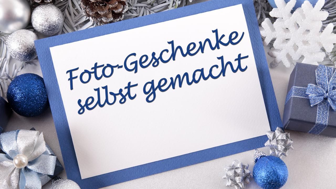 Foto-Kalender, Grußkarten, Fotobücher: Persönliche Geschenke gestalten