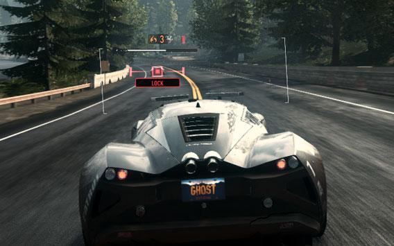 Need for Speed Rivals: Ralentir un racer à distance avant de lui infliger le coup fatal d'EMP