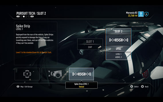Need for Speed Rivals - Equipment