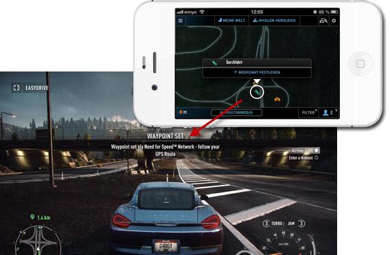Conseil bonus : rejoignez le réseau Need for Speed (app iOS)