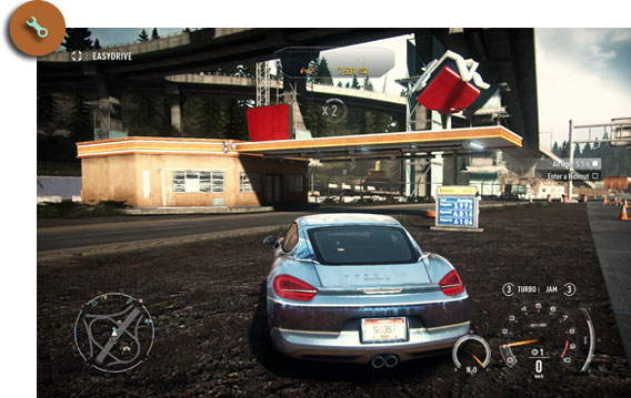 Need for Speed Rivals - Werkstatt