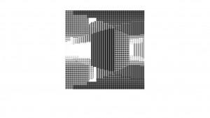Schwarz-weißer Pixel-Wahnsinn für Minecraft-Fans