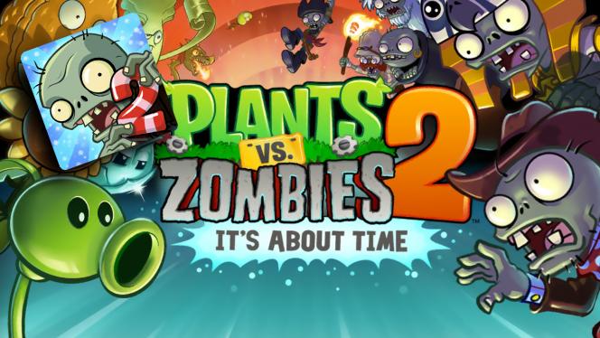 Update für Plants vs. Zombies 2: neue Untote, verbesserte Karte