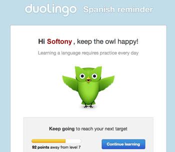 Duolingo Reminder