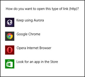 Choose your browser