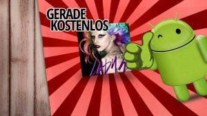 Gerade kostenlos: Lady Gaga Theme für Android Smartphones geschenkt