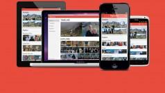Fotos von verschiedenen Geräten in der Cloud vereint