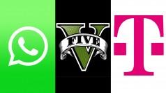 WhatsApp beliebter als Facebook, GTA V für den PC und Telekom setzt auf Tolino – der News-Überblick am 20.01.14