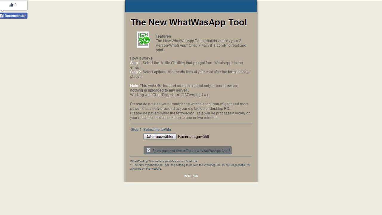 WhatsApp Chat drucken – So geht's