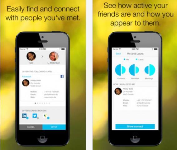 Neue App Moid Verspricht Die Zukunft Der Visitenkarte