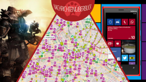 Busse in Berlin live verfolgen, Windows Phone 8.1. Update und Titanfall Beta