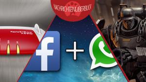 Facebook kauft WhatsApp, AVM veröffentlicht Liste mit Updates und Routern, neues Doom angekündigt
